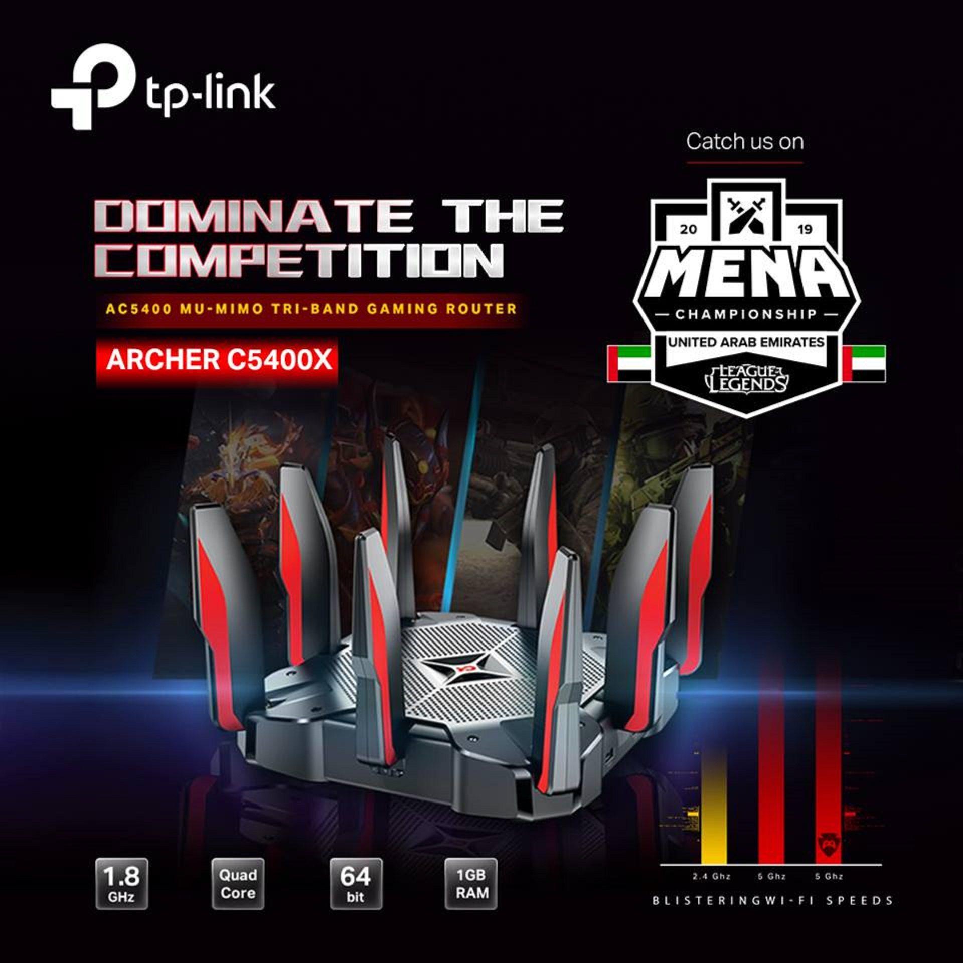 شركة تي بي لينك Tp Link تشترك مع شركة جيمرز هاب Gamers Hub لرعاية بطولة لعبة ليج أوف ليجيندز في منطقة الشرق الأوسط وشمال افريقيا لعام 2019 Gtxarabia